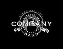 Company Band - tee shirt logo design 4 by JefferyWright