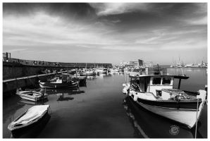 Heraklion Crete Harbour by etsap