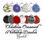 Christmas Ornament PS Brushes by seiyastock