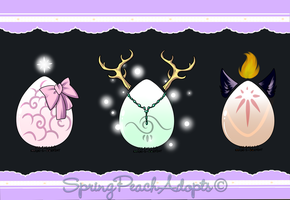 Hatchies Raffle (June) Hatched by SpringPeachAdopts