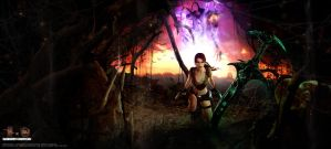 20 years of Tomb Raider - The Entity by FearEffectInferno