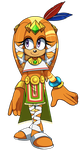 Another Boom!Tikal by AwesomeBlossomPossum