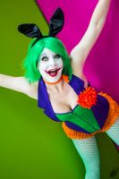 Joker Bunny by Manda by MandaCowled