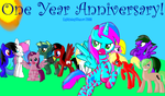 1 Year Anniversary on Deviant Art! by LightningChaser2000