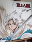 Toshiro Hitsugaya - Water colors by Sophie--Chan