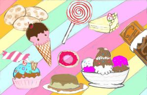 Sweets by b2vincent