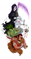 Destroying Angels-Color by queenbean3