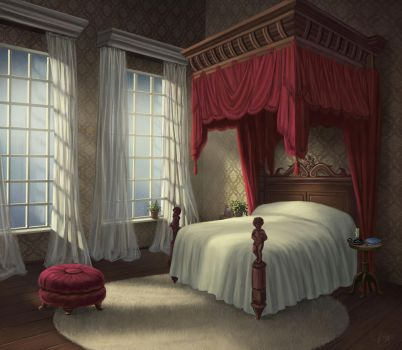 Palace Bedroom by timothysmithdesign