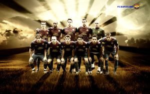 26. Barcelona Squad Team by RGB7