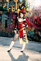 Graffiti Mad Moxxi Borderlands Cosplay  TiffanyD by BabyGirlFallenAngel