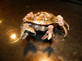 Steampunk crab by Paul-Nasca