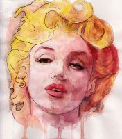 MARILYN by michaelgregoryart