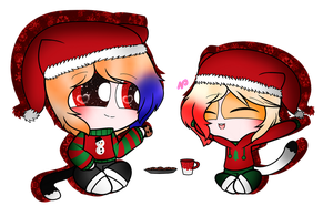 ~Nial And Noah by Nini-the-kitty