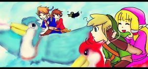 Link, look at them by Christy58ying