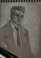 SPN - Castiel by Northern-god