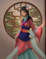 Mulan by rithgroove