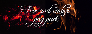 Fire And Ember Pack by DarkDawn-Rain