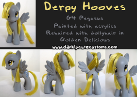 Derpy Hooves Custom 3 by Kanamai