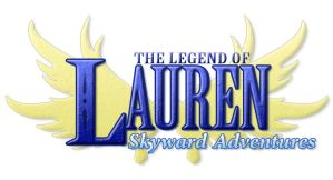 Legend of Lauren: Skyward Adventures Title by Hero-of-Awesome