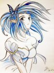 Beauty in Blue by Shinjigo