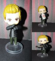 Custom Chibi - RE4 - Wesker by Shakahnna