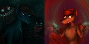 Team Zenko - Speedpaint portraits by CaramelFrog