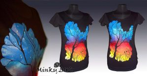 Sunset T-shirt SOLD by MinkuLul