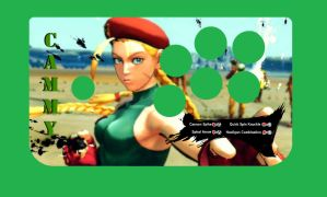 Hori EX2 Cammy Decal by ThornBlackstar