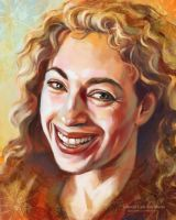Alex Kingston by ladunya