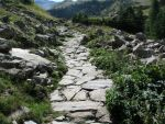 Mountain 157 - little path by Momotte2stocks