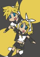 Vocaloid twins by Naru-chan012