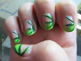 Week Four: Blades of Grass - Right Hand by CharleneKaraline