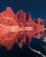 Think of Sunrise in Argentina by PatGoltz