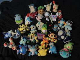 Pokemon Plush Collection by NovaMcKnighten