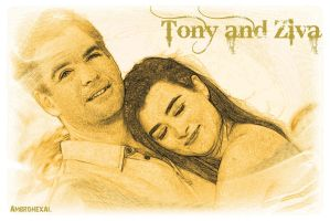 Tony and Ziva x3 by Ambrohexal