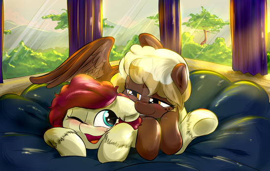 [COM] Cuddling Noon by PhuocThienCreation