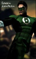 MK vs. DC Green Lantern by raidergale