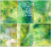 Under the trees - WATERCOLOR STOCK PACK by AuroraWienhold