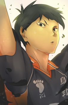 [COLORING] Kageyama Coloring by Captain-Sexay