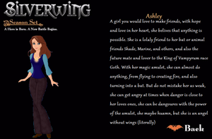 Silverwing .:Ashley:. by ADFTlove