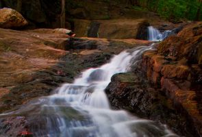 Mann's Run Falls by IndianRunPhotography
