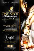 one shot wednesdays flyer by DeityDesignz