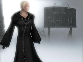 Luxord arrived Silent Hill by LexaKiness