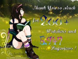 [SP - 200+] Thank You so Much by Yui-RainHime
