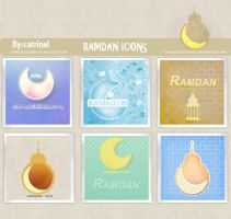 ramadan icons by cameliaRessources