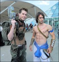 Borderlands and Prince of Persia by MJ-Cosplay