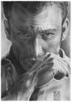 Chris Evans portrait by dmkozicka