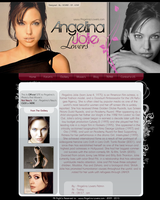Angelina Jolie . LOVER'S by SALAM-SOL