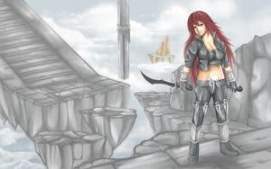 Day 6 - League of Legends - Katarina by human-failure