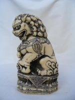 Foo Dog 03 by DKD-Stock